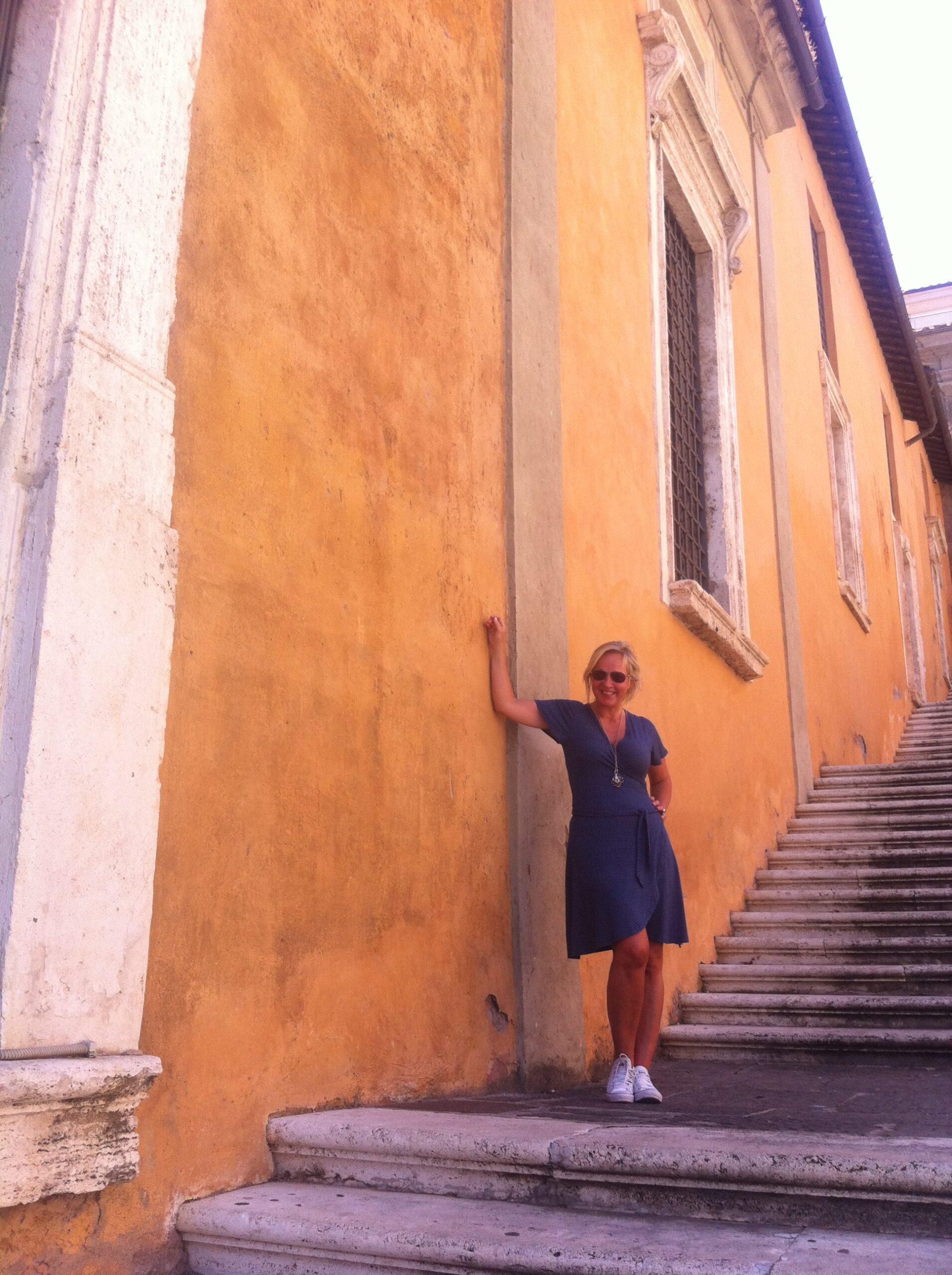 I Rom på väg till Florens