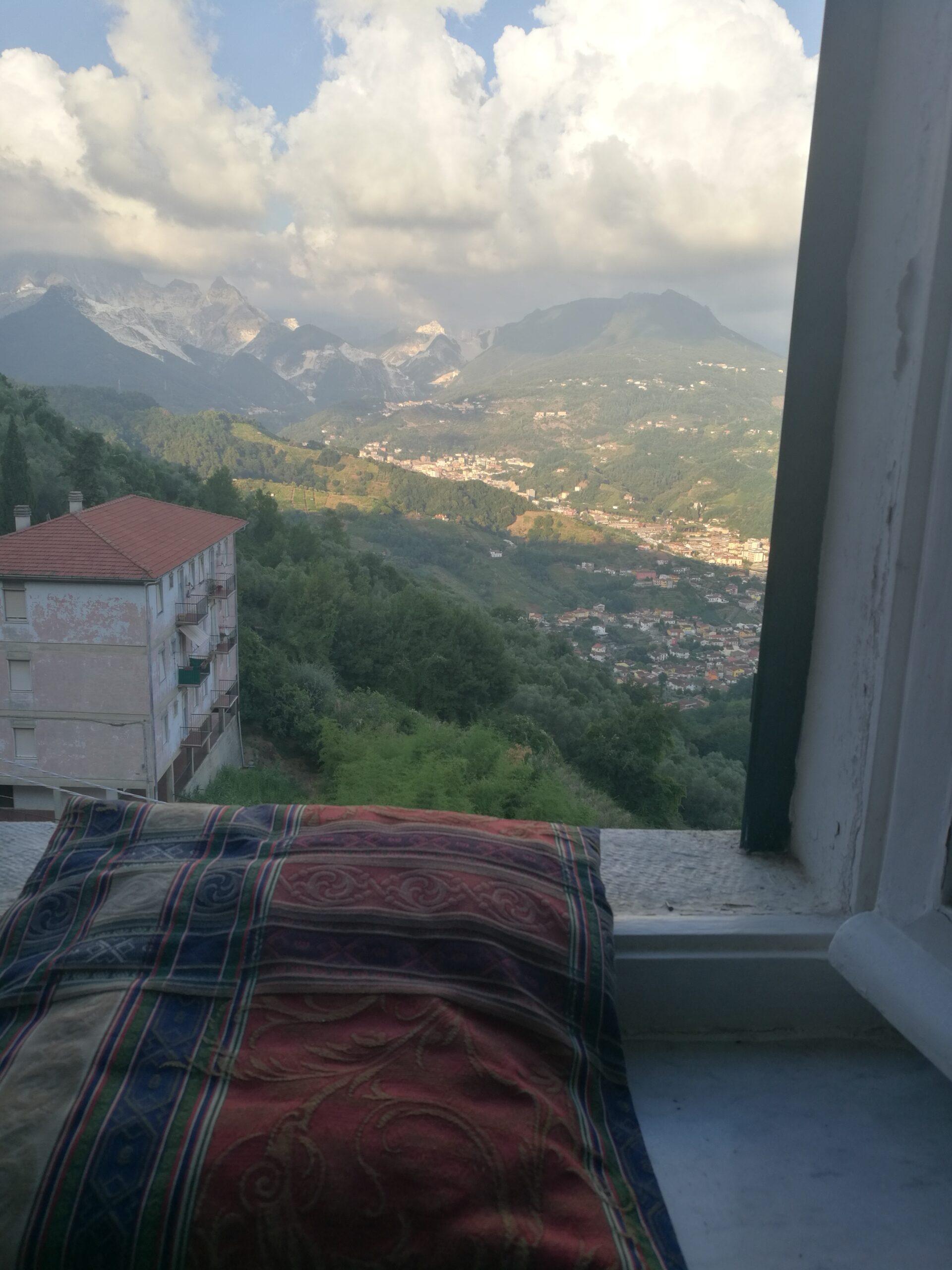 Utsikt över Carrara