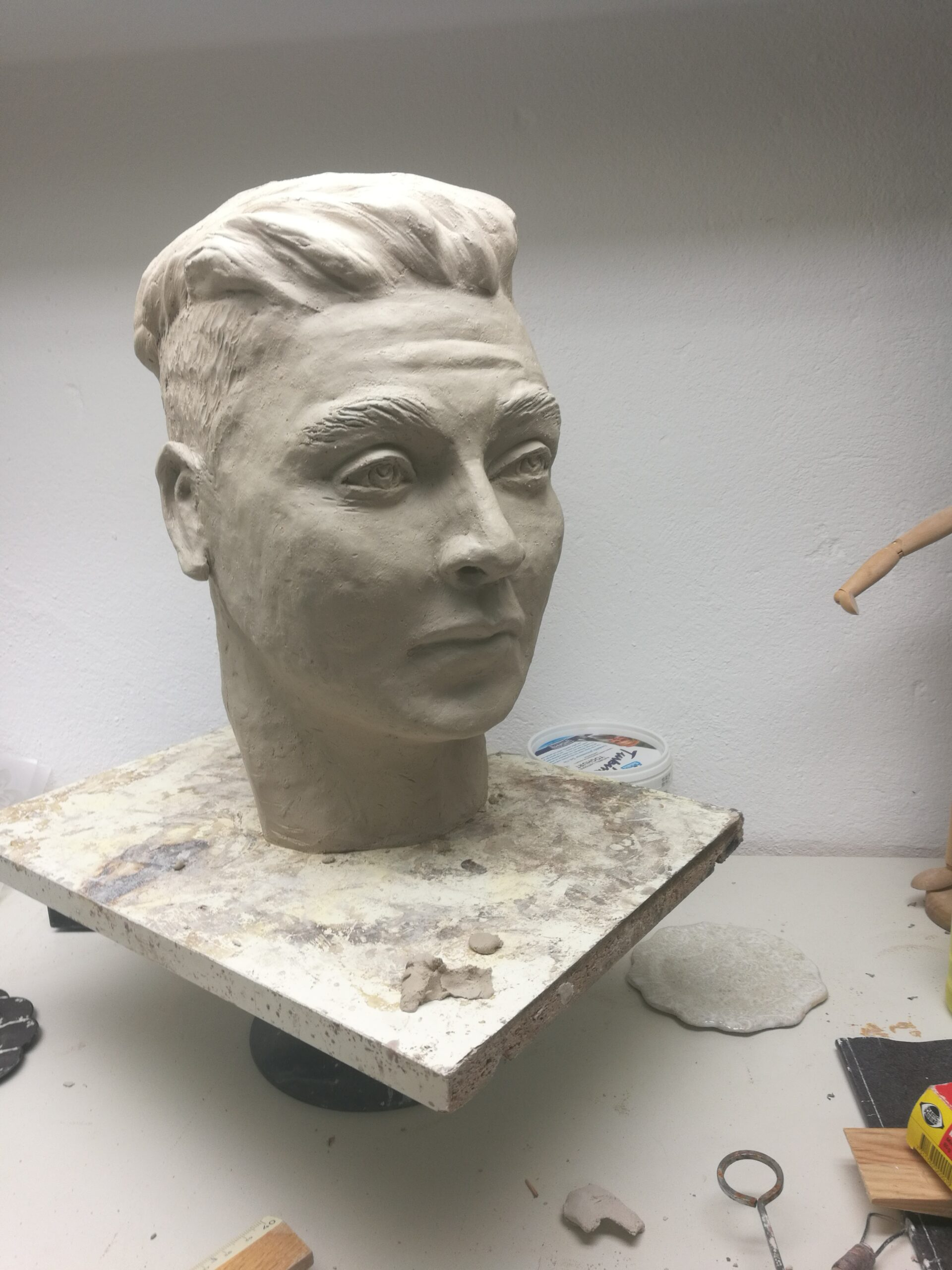 Porträtt ung man