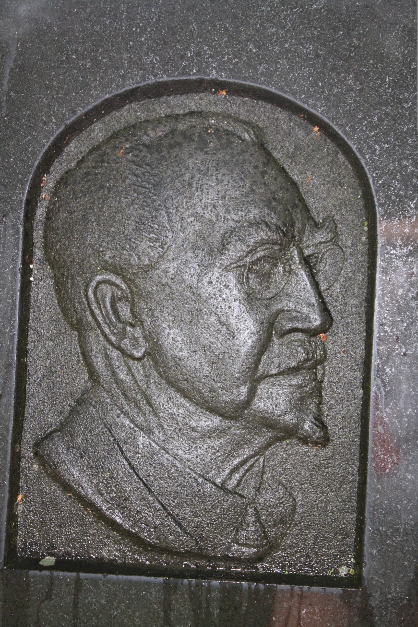 Victor Lindborg grav i Strängnäs