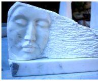 Kvinna marmor